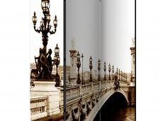 Paraván - Alexander III Bridge, Paris [Room Dividers]
